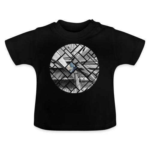 Segelschiff Grafisches Design - Baby T-Shirt