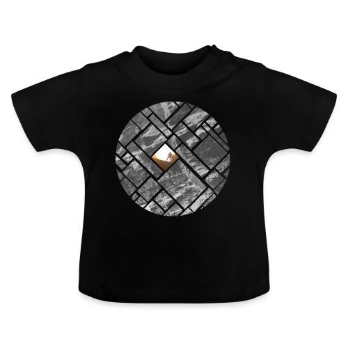 Felsklettern Bouldern Grafisches Design - Baby T-Shirt