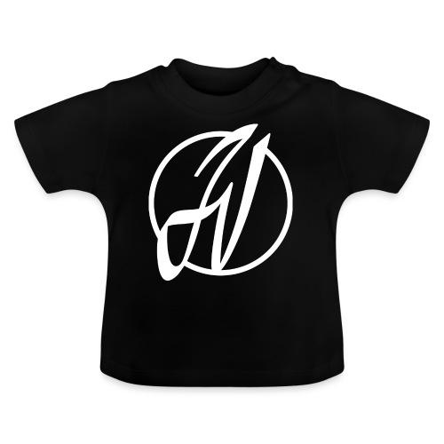 JV Guitars - logo blanc - T-shirt Bébé