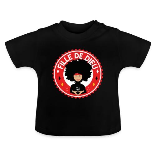 fille de Dieu rouge - T-shirt Bébé