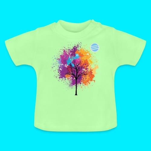 LOGO AUTUNNO BANCOMATTI - Maglietta per neonato