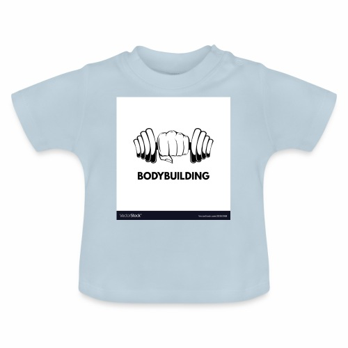 Bodybuilding, kropps byggare - Baby-T-shirt