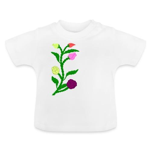 fleurs - T-shirt Bébé