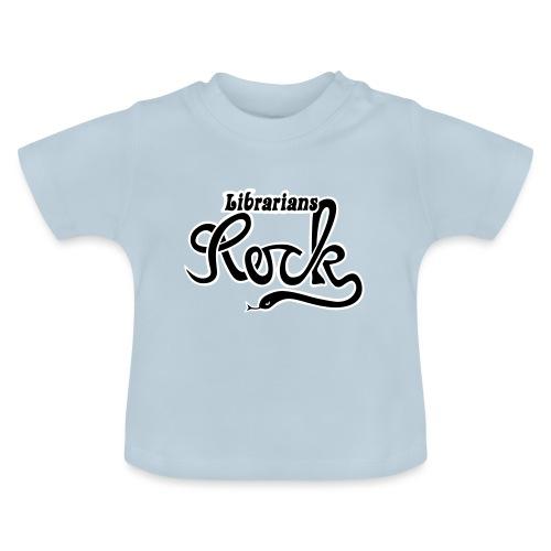 Librarians ROCK - Baby-T-shirt