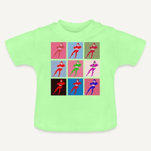 Stańczyk Warhol bez tla - Koszulka niemowlęca