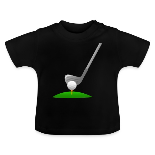 Golf Ball PNG - Camiseta bebé
