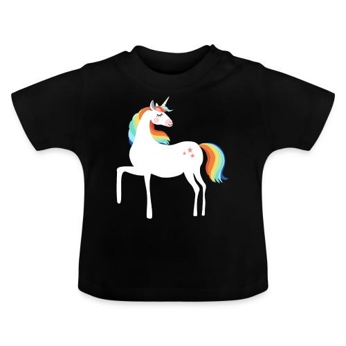 stolzierendes Einhorn bezaubernd Pferde Fabelwesen - Baby T-Shirt