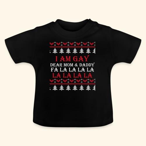 Gay Christmas sweater - Koszulka niemowlęca