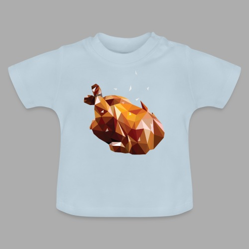 Turkey polyart - Baby T-Shirt