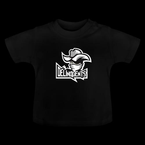 Delinquents Hvidt Design - Baby T-shirt