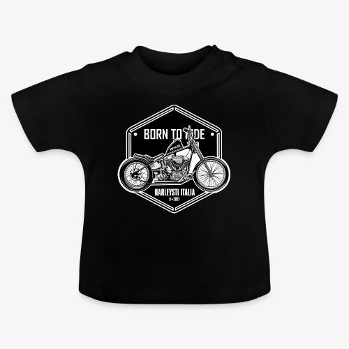 Born to Ride - Vintage motorbike - Maglietta per neonato