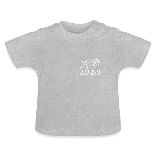 La Riposte Blanc - T-shirt Bébé