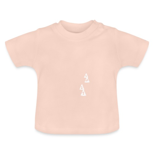 Conos CRZY: CR - Camiseta bebé