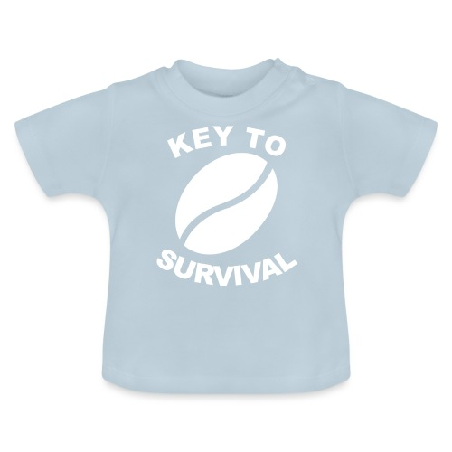 Key-to-survival-weiß - Baby T-Shirt