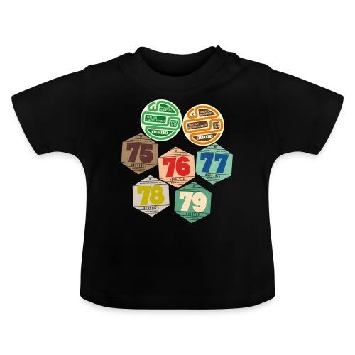 Vignettes automobiles années 70 - T-shirt Bébé