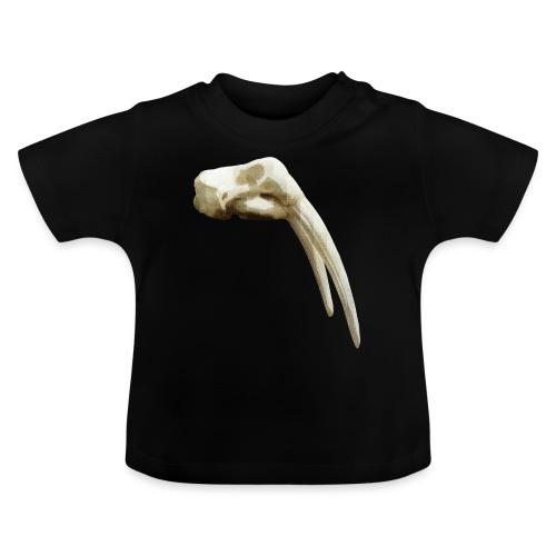 Schedel van een walrus - Baby T-shirt