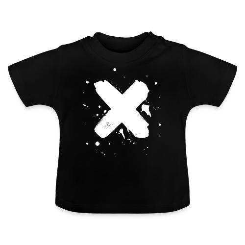 X valkoinen - Vauvan t-paita