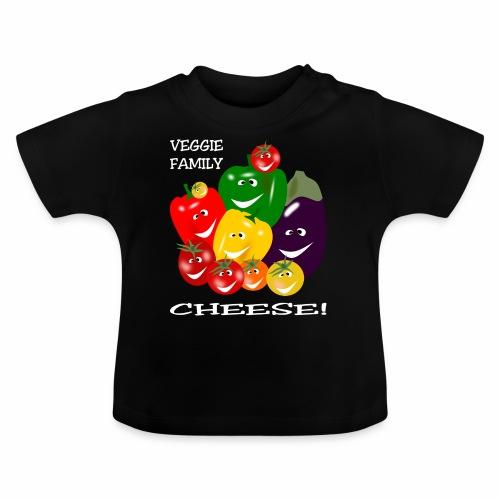Veggie Family - Cheese! - Baby T-Shirt