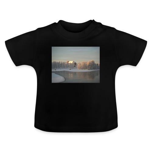 Talvinen Joensuu - Vauvan t-paita