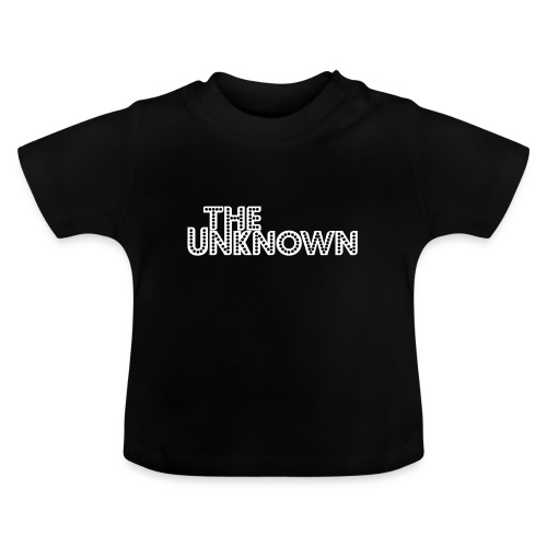 The Unknown Logo white - Baby T-shirt