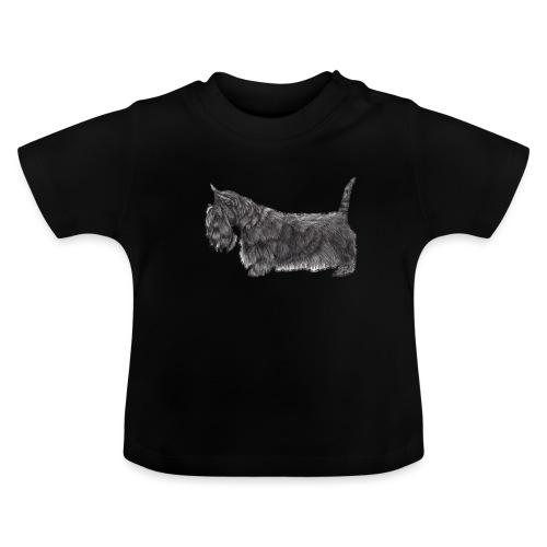 skotsk terrier ub - Baby T-shirt
