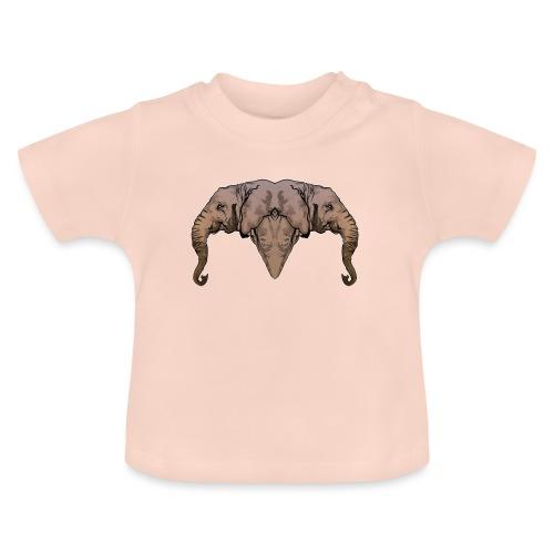 Elephants - T-shirt Bébé