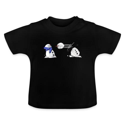 Bataille de boules de neige - T-shirt Bébé