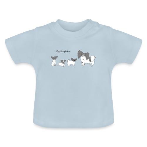 papillon forever - Baby T-shirt