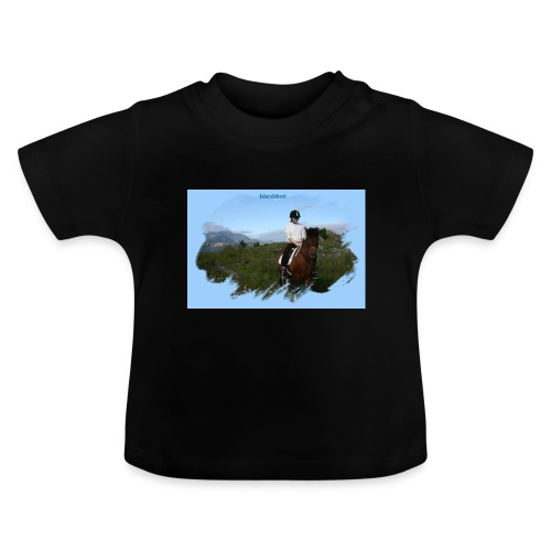 Islandshest 8265 png - Baby-T-skjorte