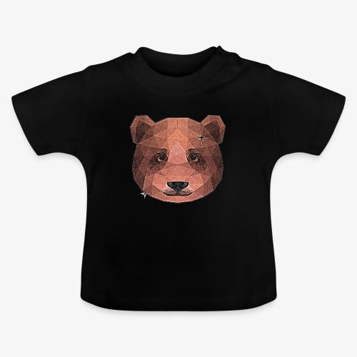 Brązowy miś - Koszulka niemowlęca