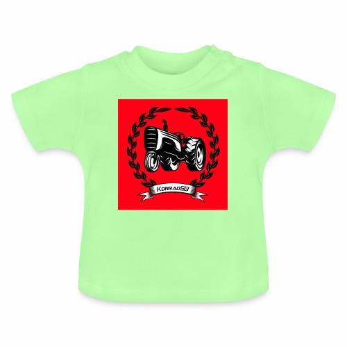 KonradSB czerwony - Koszulka niemowlęca