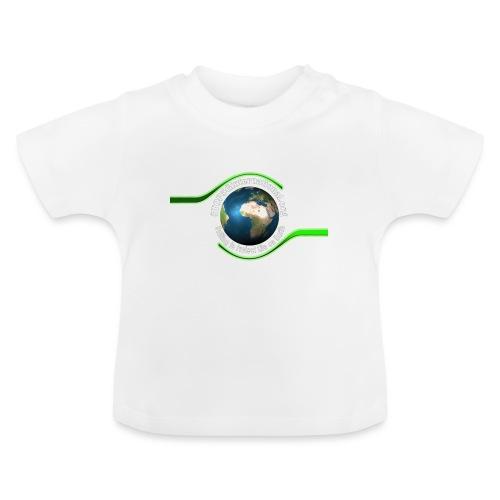 LOGO white font - Baby T-Shirt