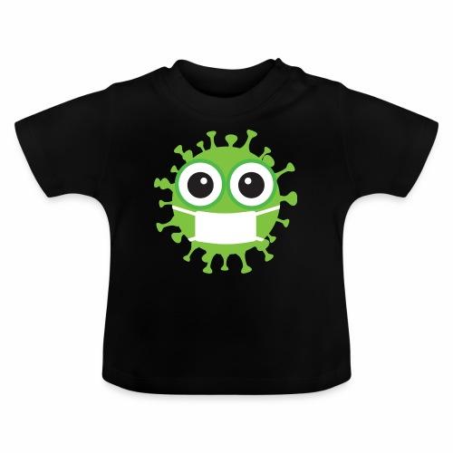 Uśmiechnij się pod maską - Koszulka niemowlęca