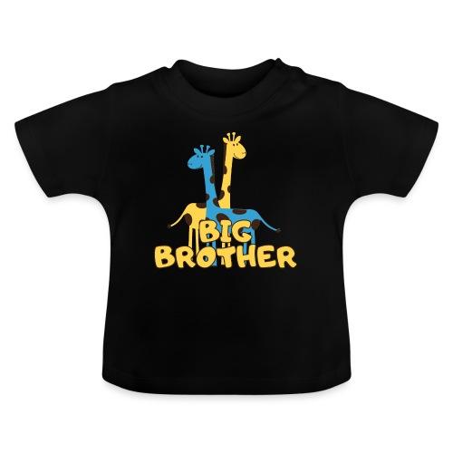 big brother giraffe babyparty shirt - Baby T-Shirt