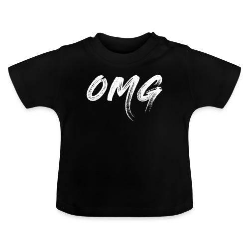 OMG, valkoinen - Vauvan t-paita