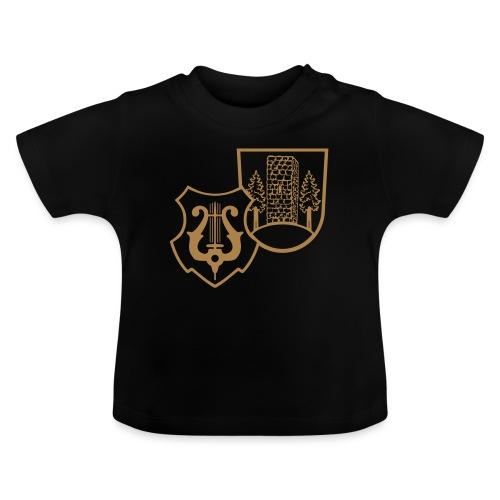 MVW Welden Logo Schwarz gross - Baby T-Shirt
