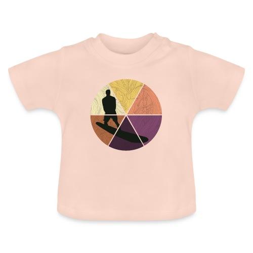 Wellenreiten - Baby T-Shirt