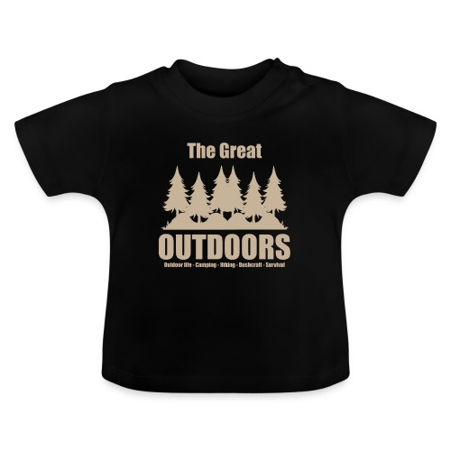 The great outdoors - Clothes for outdoor life - Baby T-Shirt