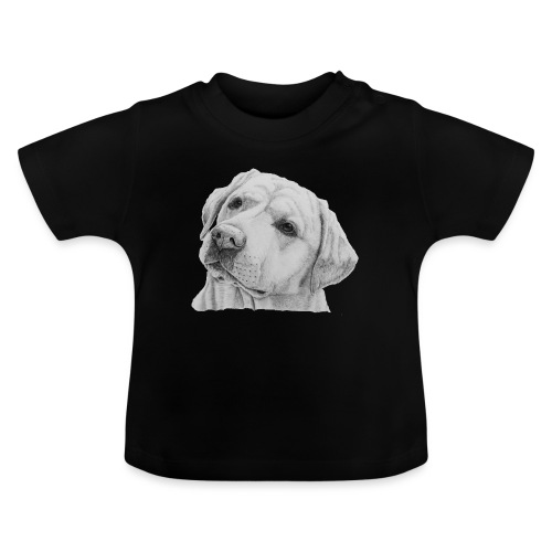 labrador retriever yellow - head - Baby T-shirt