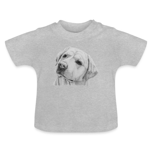 labrador retriever yellow - head - Baby T-shirt