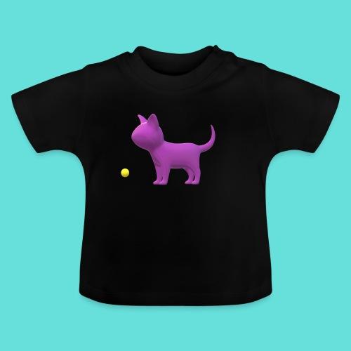 chat - T-shirt Bébé