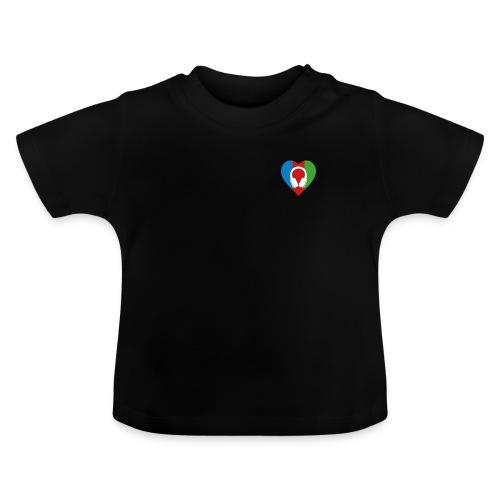 Silent Disco Love RGB | Headphone White - Baby T-Shirt