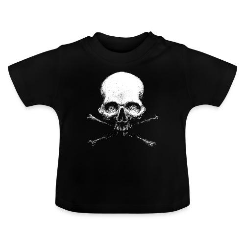 Old Skull - Maglietta per neonato
