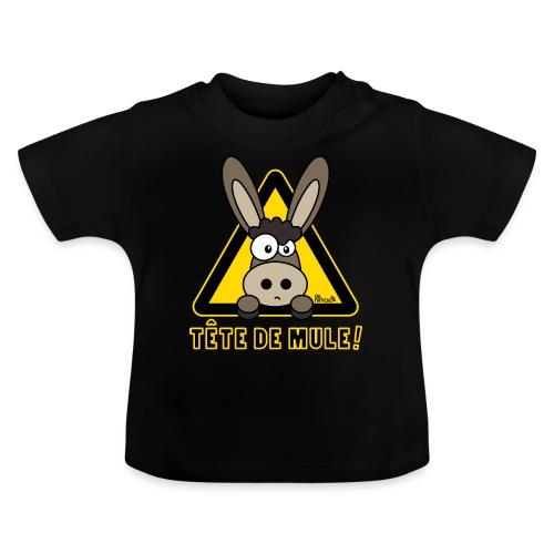 Âne, Tête de mule, tetu - T-shirt Bébé