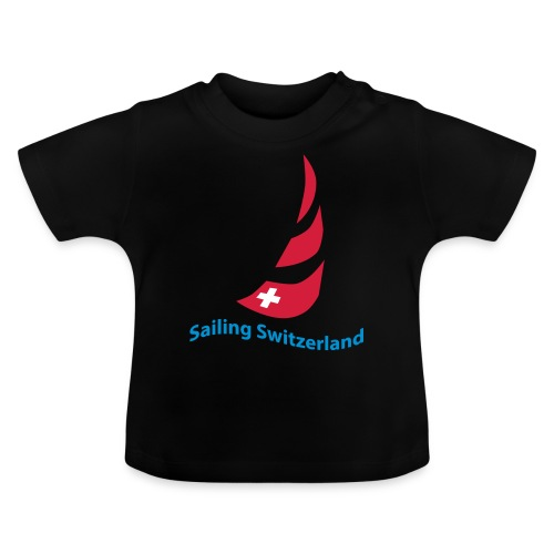 logo sailing switzerland - Baby T-Shirt