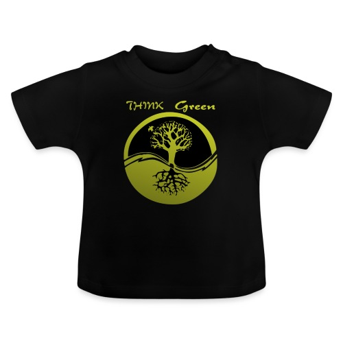 Think green - Camiseta bebé