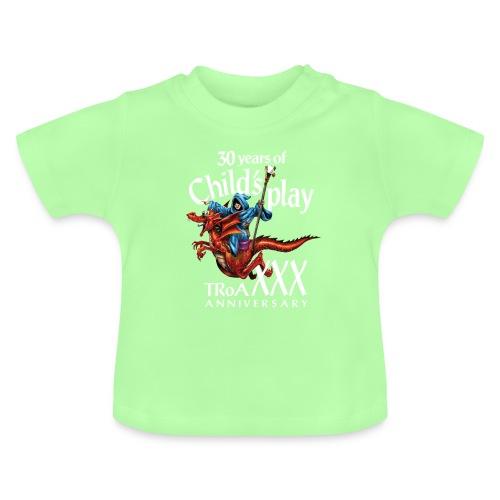 TRoA 30 år - Hvid skrift - Baby T-shirt