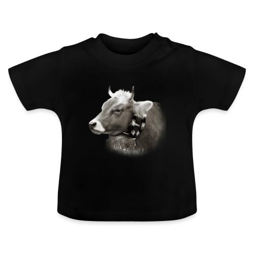 Allgäu Kuh sepia - Baby T-Shirt