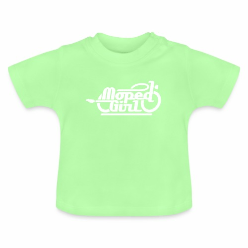 Moped Girl / Mopedgirl (V1) - Baby T-Shirt
