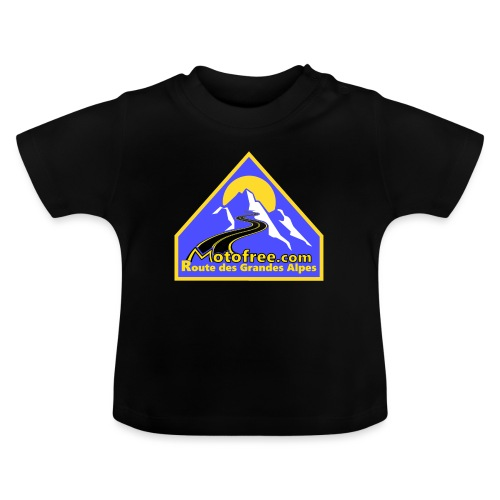 Logo motofree bleu - T-shirt Bébé